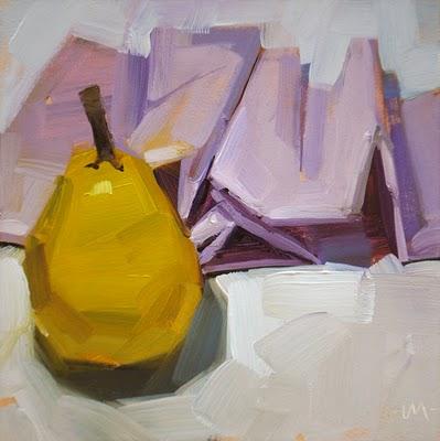 """Considering Folds"" original fine art by Carol Marine"