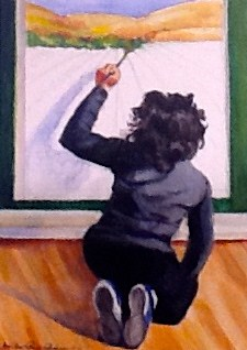 """Dreaming Big"" original fine art by JoAnne Perez Robinson"