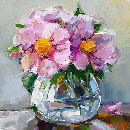 """""""Die Blumen"""" original fine art by Jurij Frey"""