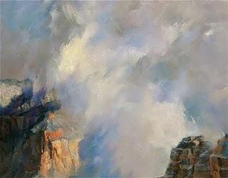 """""""Airwave"""" original fine art by Kelvin Lei"""