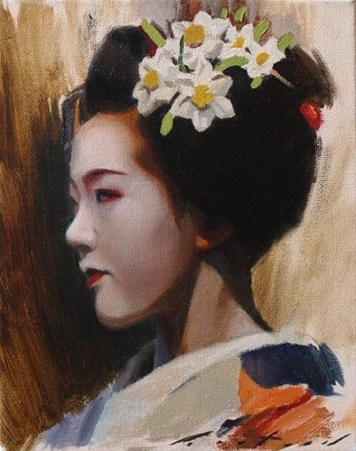 """Tomitae Study"" original fine art by Phil Couture"