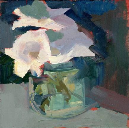 """""""1463 Corner"""" original fine art by Lisa Daria"""