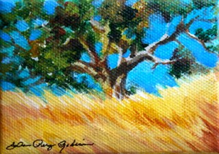 """Buff-colored Hills"" original fine art by JoAnne Perez Robinson"
