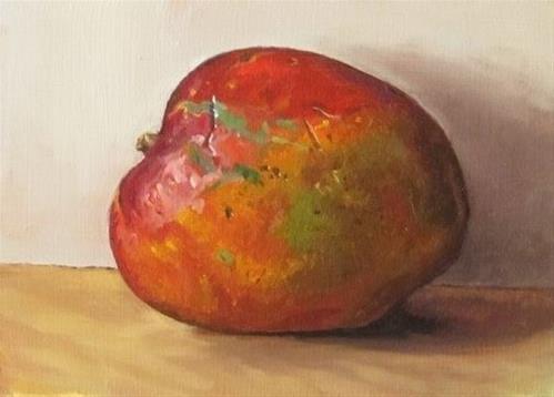 """25-Mango"" original fine art by Ed Watson"