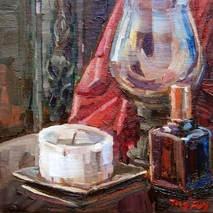 """""""Kerze"""" original fine art by Jurij Frey"""