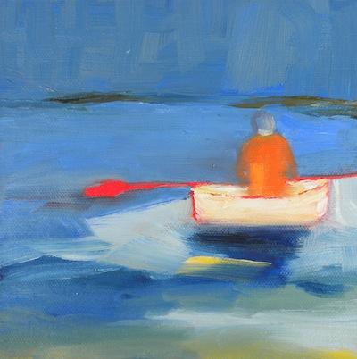 """""""Row"""" original fine art by Janet Bludau"""