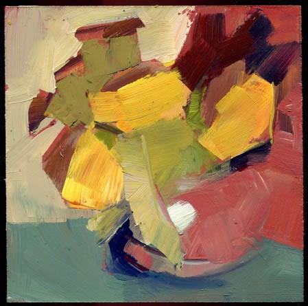 """2199 Summer School"" original fine art by Lisa Daria"