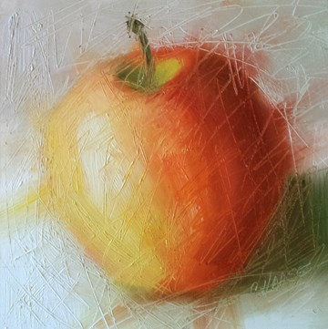 """""""About to be Peeled"""" original fine art by Cindy Haase"""