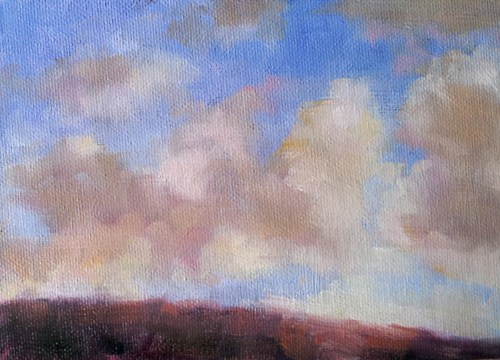 """""""Skyscape One"""" original fine art by Cindy Haase"""