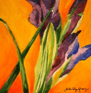 """Spring Preview"" original fine art by JoAnne Perez Robinson"