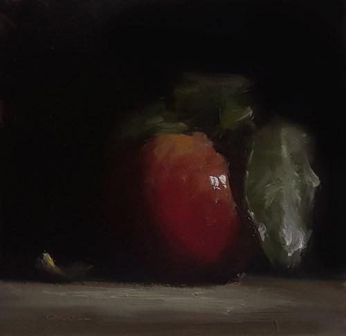 """Apple"" original fine art by Neil Carroll"