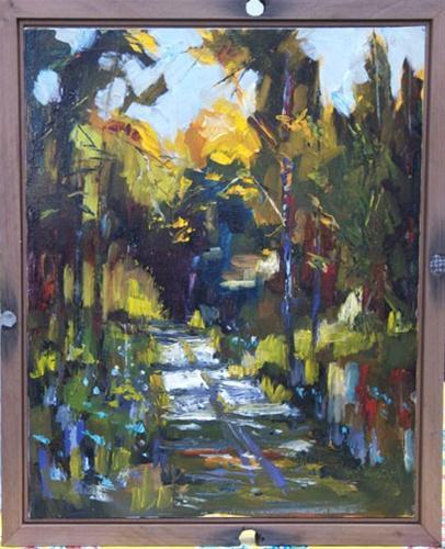 """""""PAINT OUT Diane Whitehead Fine ARt Landscape"""" original fine art by Diane Whitehead"""