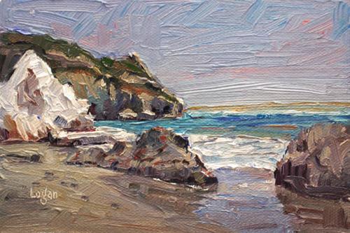 """Avila Beach Looking South(ish)"" original fine art by Raymond Logan"