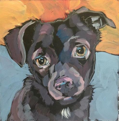 """July 23, Louie!"" original fine art by Kat Corrigan"
