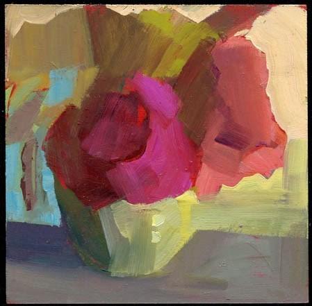 """1961 plain"" original fine art by Lisa Daria"