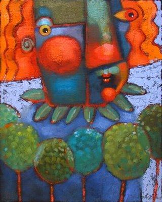 """A Walk In The Woods"" original fine art by Brenda York"
