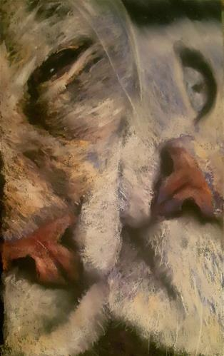 """Kit and Kat"" original fine art by Rentia Coetzee"