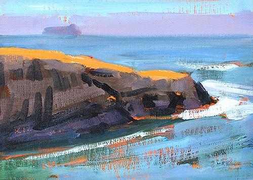 """""""Sunset Cliffs, Ocean Beach"""" original fine art by Kevin Inman"""