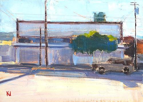 """""""Tijuana Street"""" original fine art by Kevin Inman"""