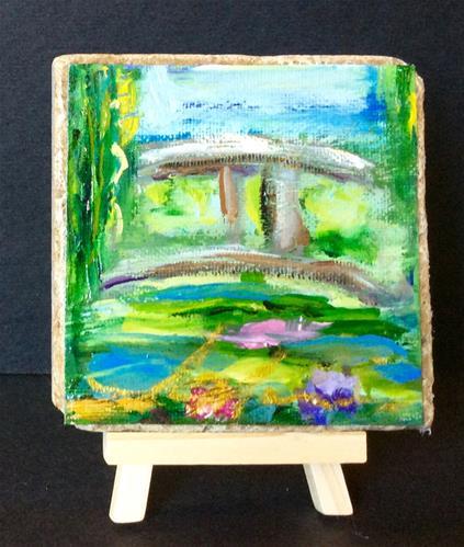 """The Bridge"" original fine art by Susie Monzingo"
