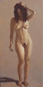 """""""NUDE STUDY #4"""" original fine art by Helen Cooper"""