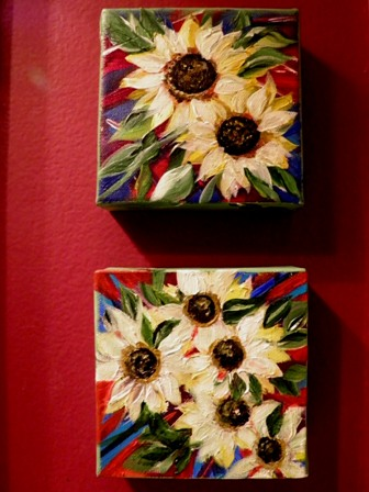 """Sunshine II"" original fine art by Susan Belisle"