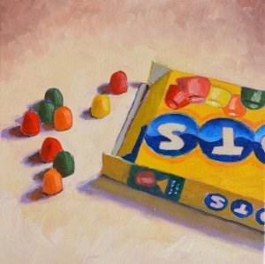 """""""Dots"""" original fine art by Robert Frankis"""
