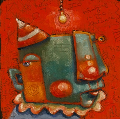 """Bright Idea"" original fine art by Brenda York"