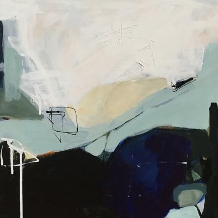 """""""Snowmelt"""" original fine art by Pamela Munger"""