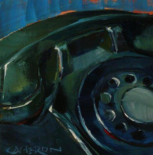 """REDFIELD 8"" original fine art by Brian Cameron"