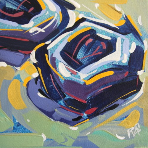 """bird's Nest Abstraction 63"" original fine art by Roger Akesson"