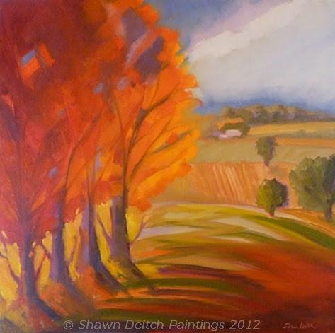 """Warm Days"" original fine art by Shawn Deitch"