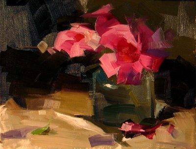 """Demo at Ajijic Mexico 2 --- Sold"" original fine art by Qiang Huang"