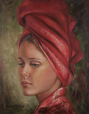 """Refreshed"" original fine art by Denise Henley"