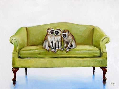 """hatching a plan"" original fine art by Kimberly Applegate"