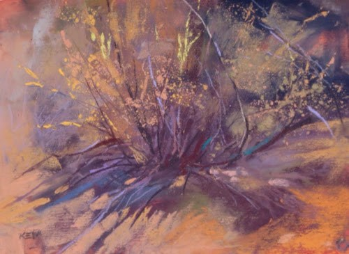 """Gone Painting...Another Day in Albuquerque"" original fine art by Karen Margulis"