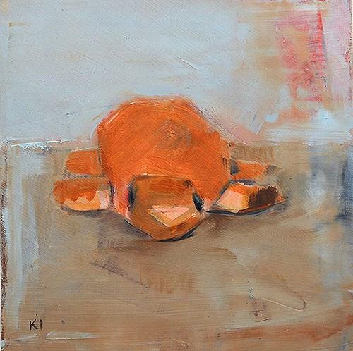 """""""Turtle Bread"""" original fine art by Kevin Inman"""