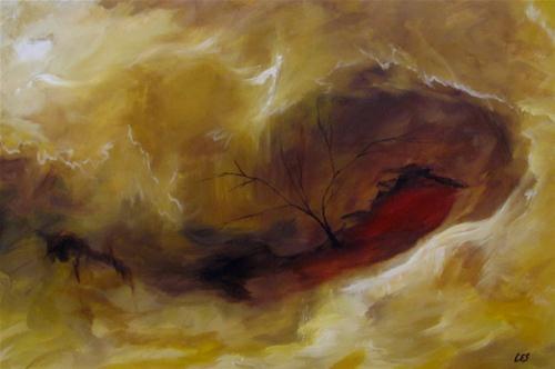 """""""Rebirth"""" original fine art by ~ces~ Christine E. S. Code"""