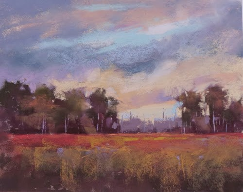 """Stan Sperlak Workshop Report...Return to Crow Creek"" original fine art by Karen Margulis"