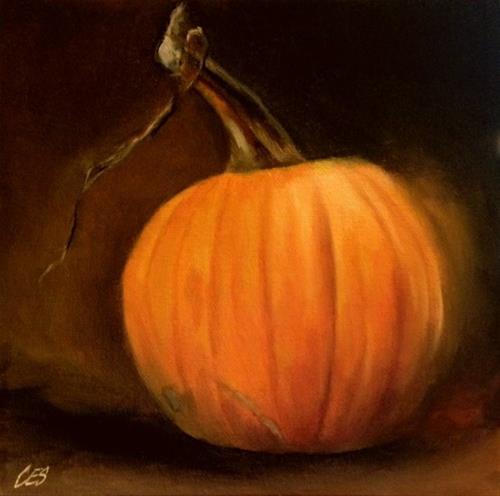 """""""Anticipating Pie"""" original fine art by ~ces~ Christine E. S. Code"""
