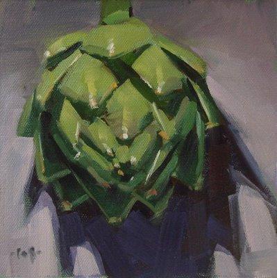 """Spiky Thing"" original fine art by Carol Marine"