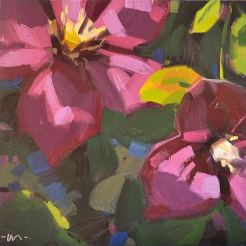 """Life in Slow Motion"" original fine art by Carol Marine"