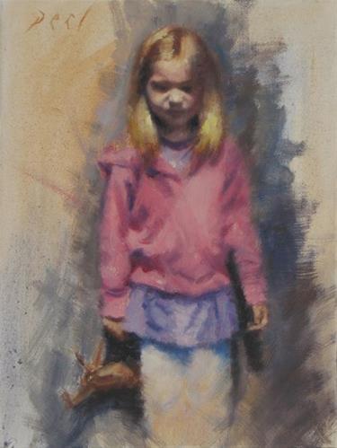 """""""Ella's companion"""" original fine art by Daniel Peci"""