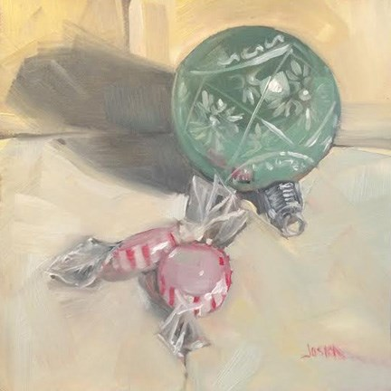"""Ornament and Candy"" original fine art by Elaine Juska Joseph"