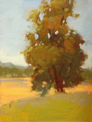 """Rolling Hills"" original fine art by Laurel Daniel"