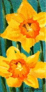 """""""Here Comes the Sun"""" original fine art by JoAnne Perez Robinson"""
