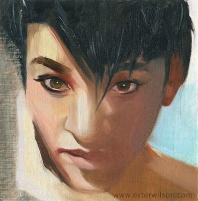 """Lost in Shadow"" original fine art by Ester Wilson"