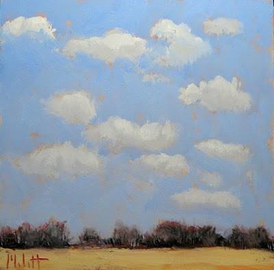 """Spring Landscape Oil Painting Contemporary Impressionism"" original fine art by Heidi Malott"