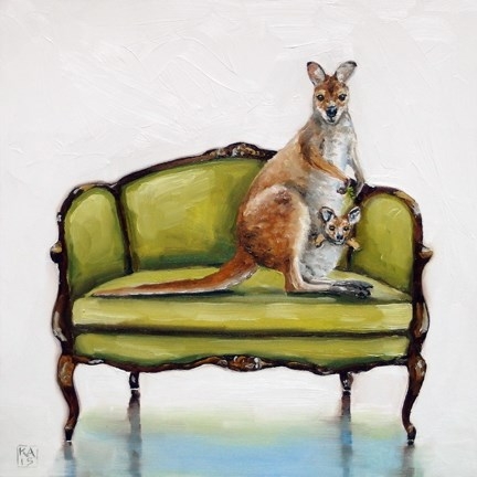 """""""best seat in the house"""" original fine art by Kimberly Applegate"""