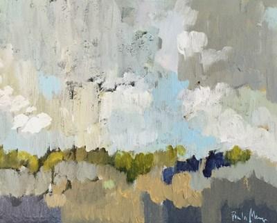 """""""Clouds over Mesa"""" original fine art by Pamela Munger"""